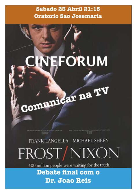 Cartaz Frost vs Nixon